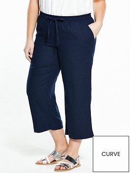 v-by-very-curve-linen-cropped-trouser