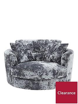 bellininbspfabric-swivel-chair
