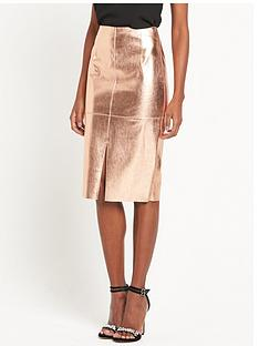 river-island-metallic-pu-skirt