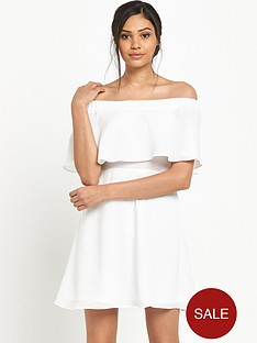 river-island-ivory-bardot-dress
