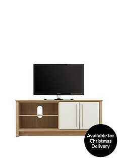 Consort Suri Ready Assembled TV Unit- Fits up to 52 Inch TV