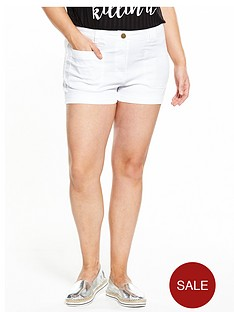 v-by-very-curve-curve-perfect-fit-shorts-white