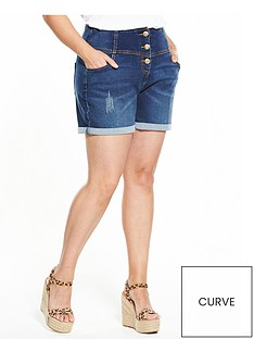 v-by-very-curve-curve-bodysculpt-high-waisted-shorts-indigo