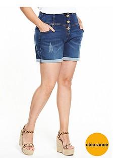 v-by-very-curve-curve-bodysculpt-high-waisted-shorts-indigo
