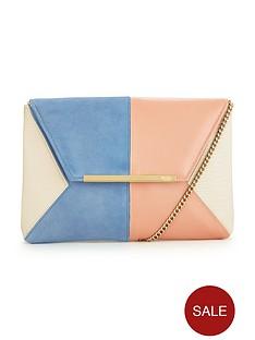 dune-batch-suede-clutch-bag