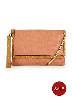 dune-bairo-leather-studded-clutch-bag