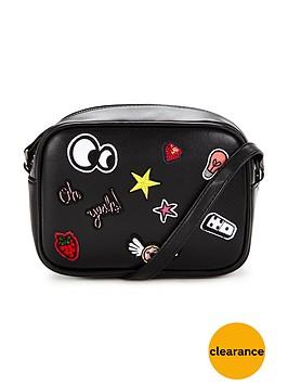 v-by-very-sticker-detail-mini-crossbody-bag-blacknbsp