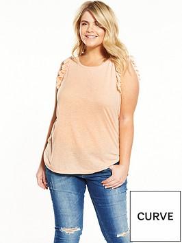 junarose-curve-frill-sleeve-t-shirt