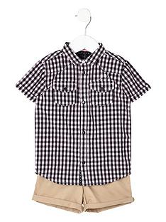river-island-mini-boys-gingham-shirt-and-shorts-outfit