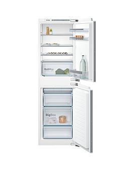 Bosch Serie 4 Kiv85Vf30G 55Cm Integrated Fridge Freezer - White