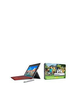 microsoft-surface-pro-4-intelreg-coretrade-i7-processor-16gb-ram-512gb-solid-state-drive-123-inch-tablet-with-xbox-one-s-500gb-console-and-minecraftnbspfavourites