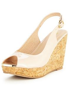 v-by-very-verity-slingback-wedge-with-gold-tipping