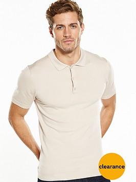 v-by-very-short-sleeve-merino-knitted-polo