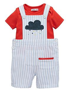 ladybird-baby-boys-ticking-stripe-dungaree-amp-bodysuit-set
