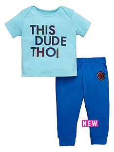 ladybird-baby-boys-this-dude-value-tee-and-jogger-set