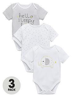 ladybird-baby-unisex-bodysuits-3-pack