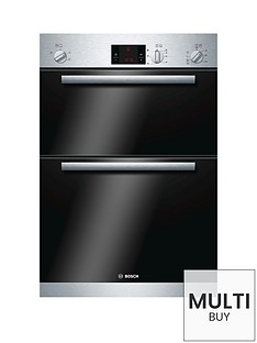bosch-serie-6-hbm13b151b-60cm-built-in-double-oven-brushed-steel