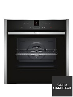 neff-b47cr32n0b-60cm-slideamphidereg-single-oven-with-with-circothermregnbsp--stainless-steel