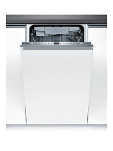 Bosch Serie 6 SPV69T00GB 10-Place 45cm Slimline Integrated Dishwasher with ActiveWater™ Technology - White