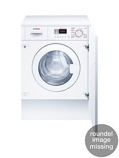 Bosch Serie 4 WKD28351GB Integrated 1400 Spin, 7kg Wash, 4kg Dry Washer Dryer with ActiveWater™ Technology - White