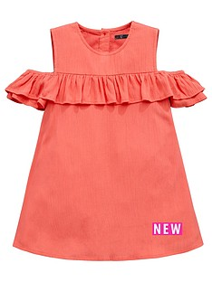 mini-v-by-very-toddler-girls-cold-shoulder-ruffle-dress
