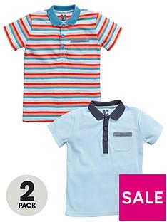 mini-v-by-very-toddler-boys-2pk-stripeplain-polos