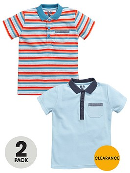 mini-v-by-very-toddler-boys-2pk-stripeplain-polos