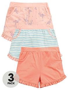 mini-v-by-very-toddler-girls-3pk-flamingo-shorts