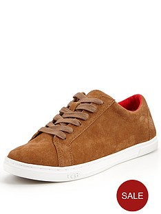 ugg-karine-suede-lace-up-plimsoll