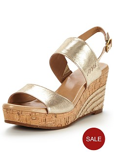 ugg-elena-metallic-two-strap-wedge