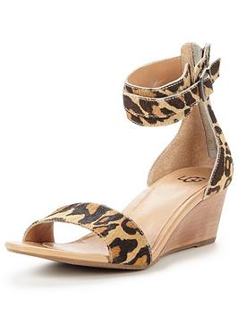 ugg-char-leopard-low-wedge