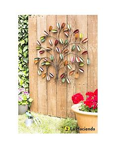 la-hacienda-leaf-posy-wall-art