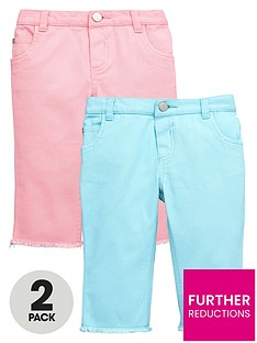 mini-v-by-very-frayed-edge-coloured-cropped-jeans-2-pack