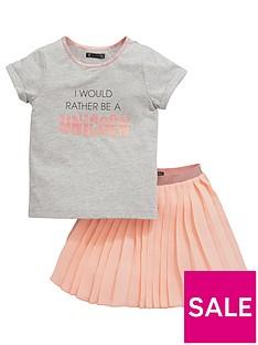 mini-v-by-very-toddler-girls-pleated-skirt-amp-unicorn-tee-set