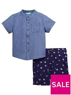 mini-v-by-very-toddler-boysnbspgrandad-shirt-and-printed-shorts-set-2-piece