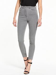 v-by-very-ella-high-waist-zip-ankle-grazer-jeans-grey-dotnbsp
