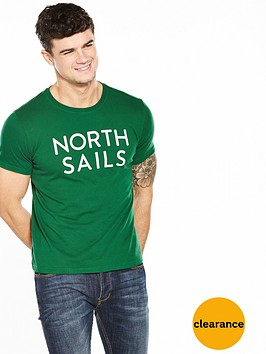 north-sails-text-t-shirt