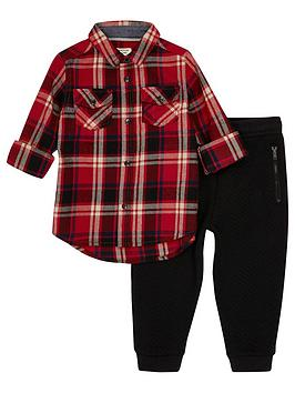 river-island-mini-boys-red-check-and-black-joggers
