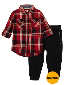 river-island-mini-boys-red-check-and-black-joggers