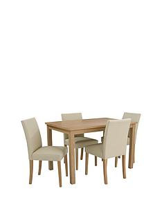 new-primo-120cm-dining-table-amp-4-faux-leather-chairs-buy-and-save