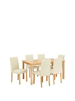 primo-150-cm-dining-table-6-faux-leather-chairs
