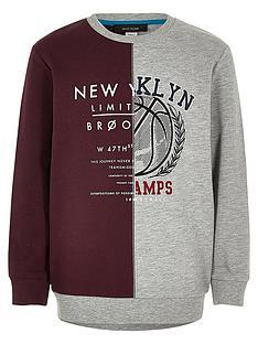 river-island-boys-colour-block-ny-sweatshirt