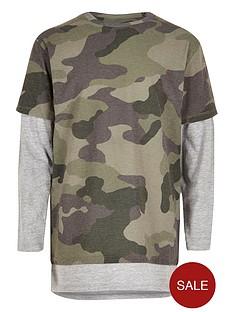 river-island-boys-khaki-camo-layered-t-shirt