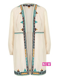 river-island-girls-cream-embroidered-duster-coat