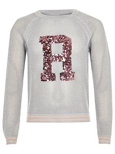river-island-girls-grey-sequin-knit-jumpe