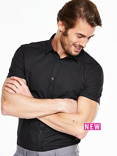 v-by-very-short-sleeve-slim-shirt