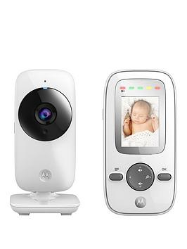Motorola Baby Monitor Mbp481 Digital Wireless Video Baby Monitor