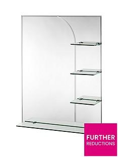 croydex-bampton-rectangular-mirror-with-shelves