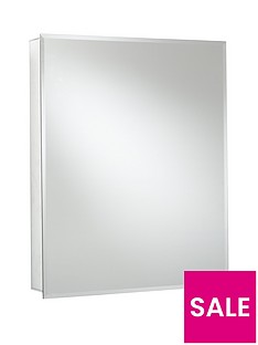 croydex-langley-single-door-ready-assembled-mirrored-cabinet