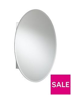 croydex-orwell-single-door-oval-cabinet